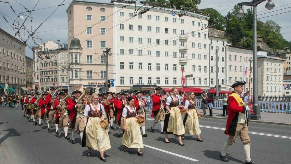 Festmarsch 80 Jahre Postmusik Salzburg 2018