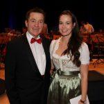 Herbstkonzert 2019 - Dirigent Franz Milacher und Moderatorin Maria Schrott