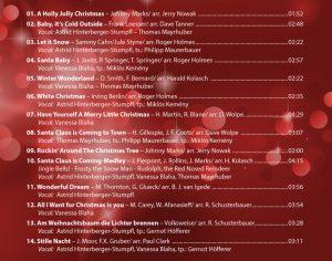 Titelliste Swinging Christmas CD