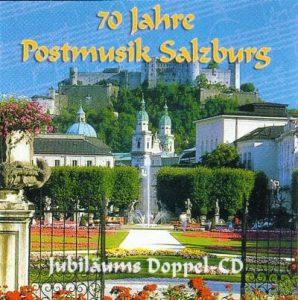 CD Cover 70 Jahre Postmusik Salzburg