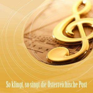 CD Cover So klingt, so singt die Österreichische Post