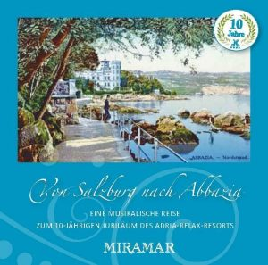 CD Cover Von Salzburg nach Abbazia