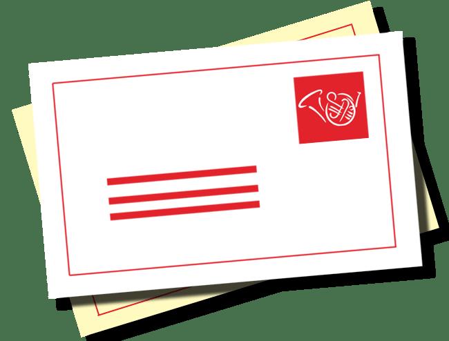 Hornpost (Briefumschlag)